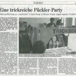 LAUSITZiale Zeitungsartikel vom 17.09.