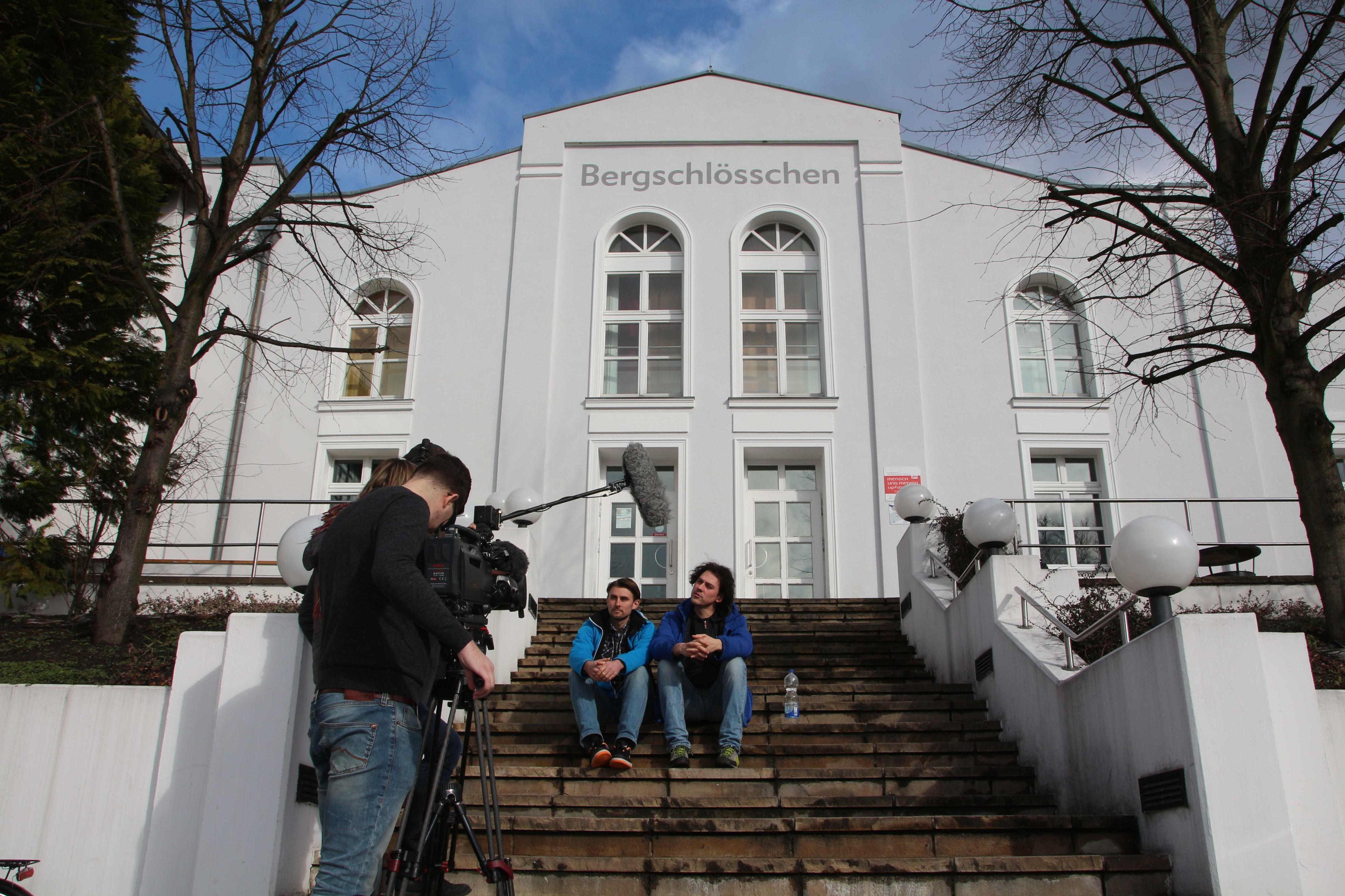 5 Regisseur Robert Heber und Kameramann Andrej Johannes Thieme im Interview